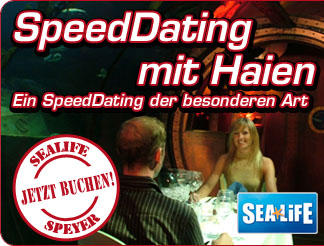 SpeedDating im Sealife