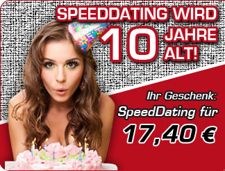 SpeedDating f�r 17,40 EUR